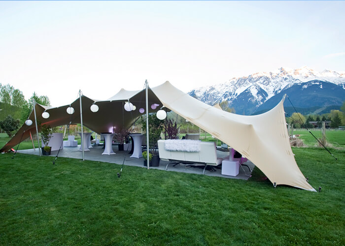 High quality stretch tents for sale