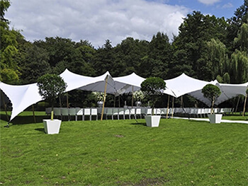 stretch tents quote